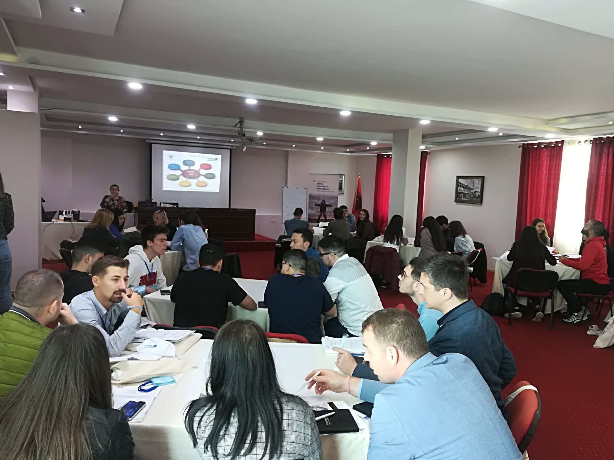 CKM's Interreg: I3 ECO-Entrepreneurial Training in Durres, Albania
